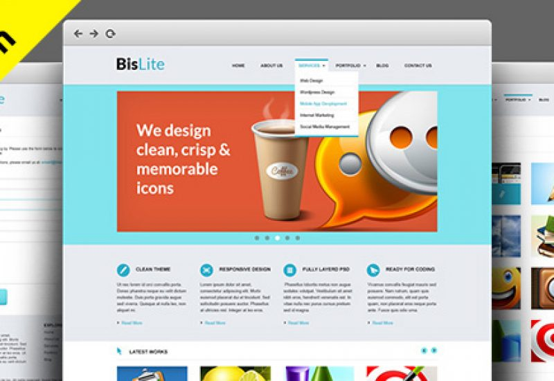 business-template-html