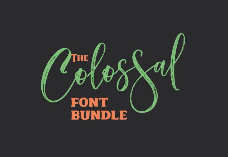 Colossal Fonts Bundle