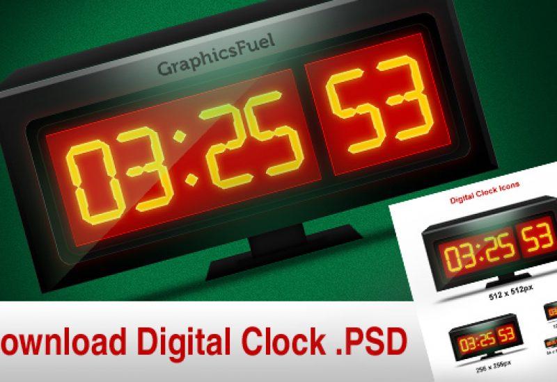 digitalclock-home