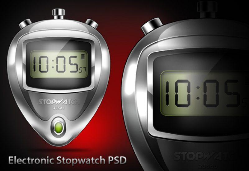 electronic-stopwatch-psd