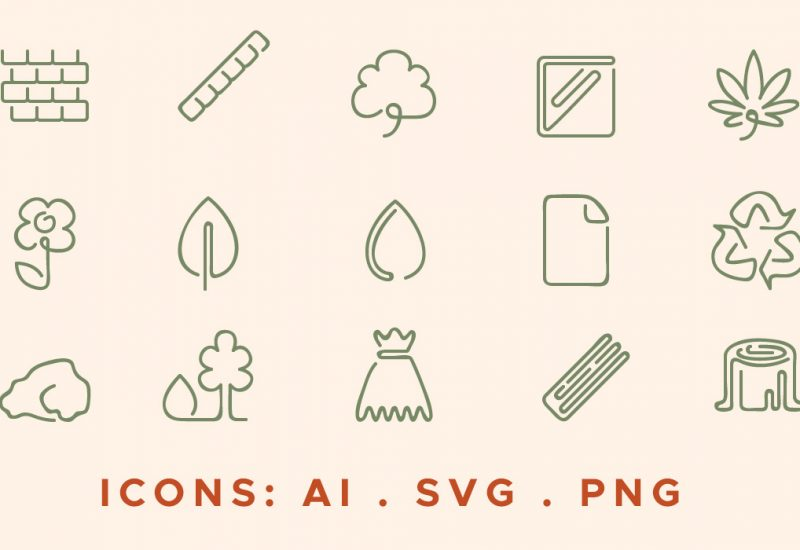 green_sustainable_icons