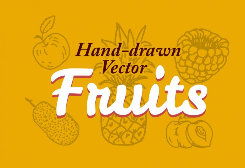 hand-drawn-vector-fruits