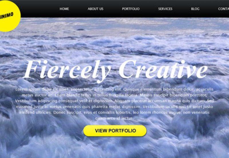 minimal-full-bg-website-template