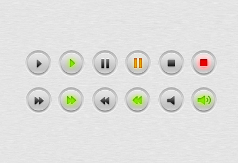 multimedia-audio-video-buttons