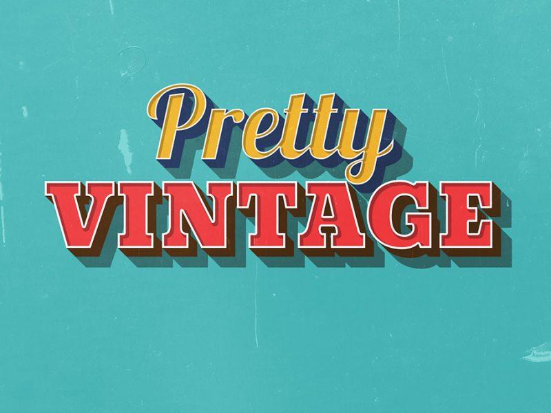 pretty-vintage-text-effect