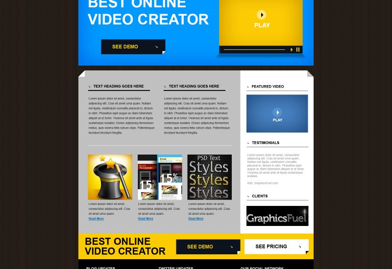 product-website-template