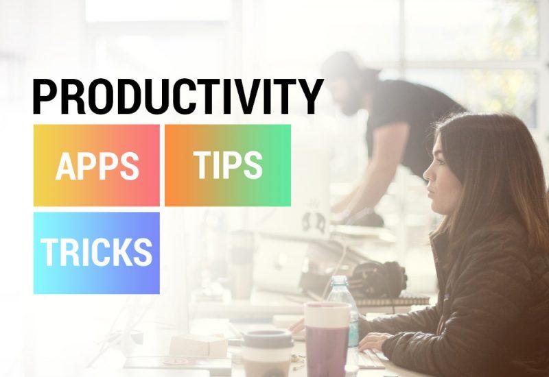 productivity-apps-tips-tricks