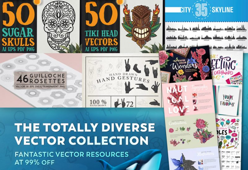 Buy Totally Diverse Vectors Collection