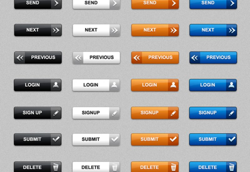 web-buttons