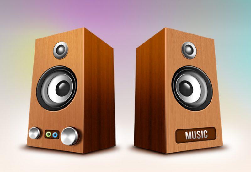 wooden-speakers